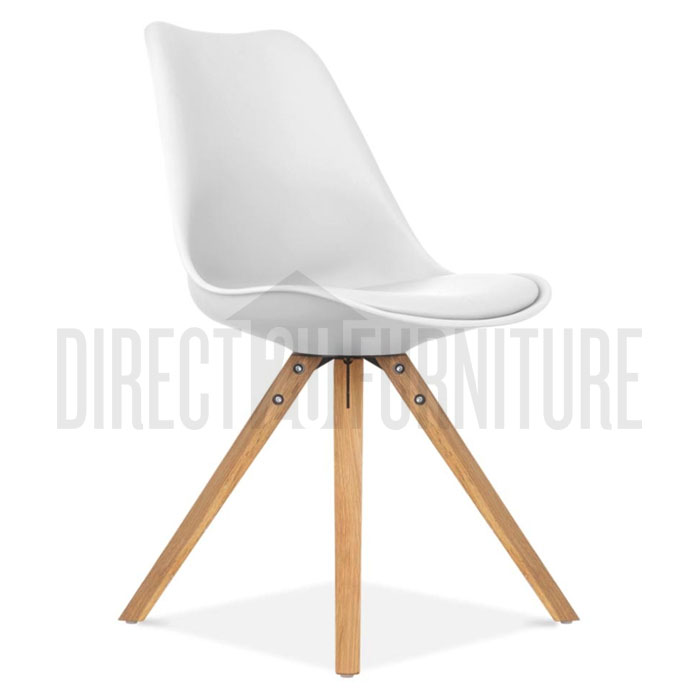 retro replica eames dsw dining chairs padded cushion beech caf abs