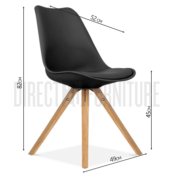 replica eames dsw dining chairs padded cushion beech caf abs ebay